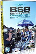 BRITISH SUPERBIKE BEHIND THE SCENES 2011 - DVD - REGION 2 UK