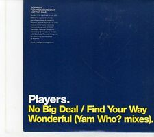 (EY482) Players, No Big Deal - 2005 DJ CD