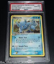PSA 10 GEM MINT Wartortle 50/112 PRERELEASE Promo Pokemon Card