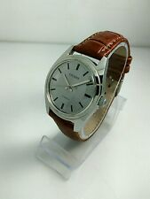 Vintage Citizen 63-8579 NOS Hand Winding Watch cal2520 Gray Dial 70's L6#