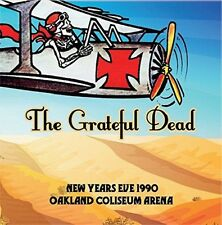 GRATEFUL DEAD - NEW YEARS EVE 1990 OAKLAND COLISEUM ARENA  3 CD NEU