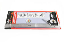 """of 1 x Nielson Combination Square And Level With 12"""" Stainless Steel Ruler"""