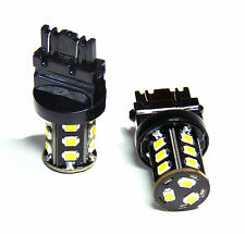 GENSSI Premium 3157 3057 4157 4057 White LED Backup Rear Bulbs (Pack of 2)