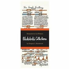 Blackstock's Collections : Notepads for List Makers (2013, Record Book)