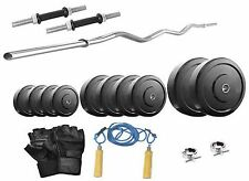 Protoner  16kg with 3 rods weight lifting home gym fitness pack