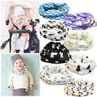 Lovely Kids Baby Girls Boy Cotton Snood Scarf Scarves Neckerchief 9 Patterns