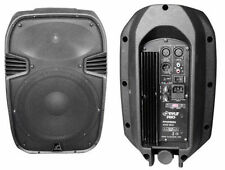 New Pyle PPHP885A 400 Watts 8'' Powered 2 Way Molded Speaker System - Imported