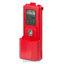BAOFENG  BL-5L 3800mAh 7.4V Extended Li-Ion Battery for UV-5R Radio RED