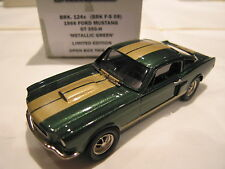1/43 BROOKLIN 124X FORD MUSTANG GT 350 H 1966 GREEN
