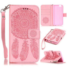 Dream Catcher Pattern Flip Card Wallet Leather Stand Case Cover For Mobile Phone