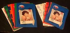ONE DIRECTION Lot of 2 Panini COMPLETE Sticker SETS 15 Sticker Cards in Each W@W