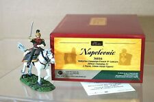 BRITAINS 36016 NAPOLEONIC WATERLOO FRENCH 4th LANCERS CORPORAL CHARGING No 1 mz