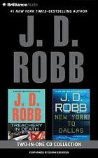 J. D. Robb - Treachery in Death and New York to Dallas 2-in-1 Collection: Treach
