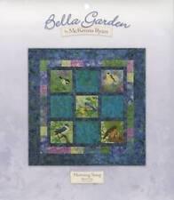 Bella Garden 5-MORNING SONG Art Quilt Pattern by McKenna Ryan song birds morning