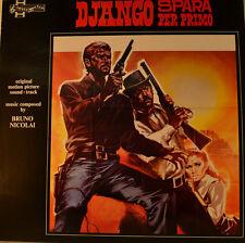 "OST - SOUNDTRACK - DJANGO SPARA PER PRIMO - BRUNO NICOLAI  12""  LP (L647)"