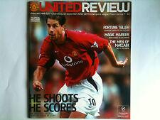 2002/03 Manchester United v Maccabi Haifa Champions League