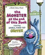 Little Golden Book: The Monster at the End of This Book, hardback, 1971