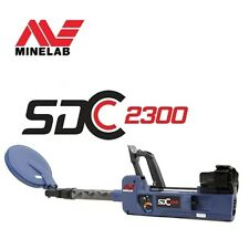 Minelab SDC 2300 GOLD Metal Detector - Land and Water - Free Shipping