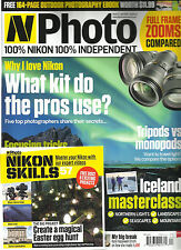 N PHOTO, APRIL, 2016  ( 100% NIKON 100% INDEOENDENT *  WHAT KIT DO THE PROS USE?