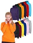 Uneek Childrens Hooded Sweatshirt Unisex Kids Hoodie Boys Girls Hoody (UC503)