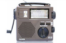 TECSUN GREEN-88 FM/AM/SW Dynamo Hand Crank Rechargeable Portable Radio Receiver