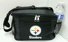 NFL Pittsburgh Steelers Lunch Bag - Insulated Box Tote - 6-Pack Cooler