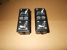 BMW E23 E24 E28 Matched Pair of Combination Seat Control Switches Parts 1375153Z
