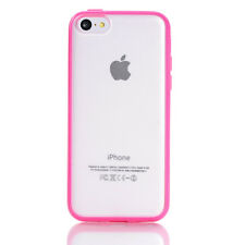 Bumper Transparent Soft Skin Back Case Cover Protector For Apple iPhone 5C 3G 4G