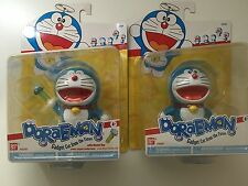 BANDAI DORAEMON Figure Vinyl Gadget Robot Cat Set of 2 B