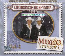 Los Broncos de Reynosa Mexico y su Musica Vol 2 Box set 3CD New Nuevo sealed