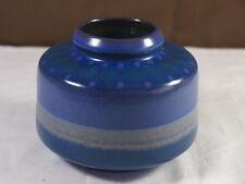 Vase Tischvase KMK Kupfermühle Keramik Pottery 60er 70er Op Art Retro