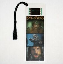 LORD OF THE RINGS The Two Towers Epic Fantasy FILM CELL PLASTIC BOOKMARK New