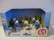 6 Schlümpfe The Smurfs in 3D Display OVP