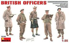 MODEL KIT SOLDIERS MIN35165 - Miniart 1:35 - British Officers