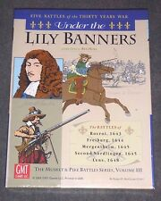 Under the Lily Banners : Musket & Pike Volume III {NEW-SEALED-SHRINK} OOP  RARE