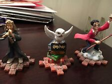 Harry Potter Figurines: Harry Hedwig And Hermione Granger