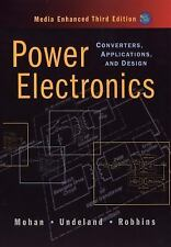 Power Electronics: Converters Applications 3rd International Edition