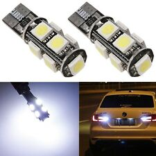 2x T10 194 W5W 5050 SMD 9 LED Canbus Sans Erreur Blanc Wedge License Pr BMW Benz