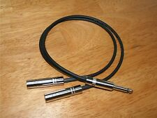"18"" Y Splitter Cable - 1/4"" Male to (2) 1/4"" Females"