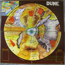 1978 Avalon Hill Frank Herbert's DUNE Original ½  Game Board REPLACE DAMAGED ONE