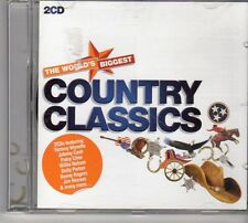 (FD278C) The World's Biggest: Country Classics, 38 tracks various - 2CDS - 2011