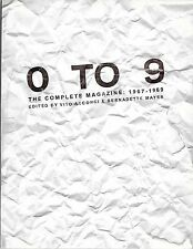 0 To 9: Complete Magazine Vito Acconci & Bernadette Mayer Experimental Writing