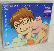 miwa Kiss you Faraway Taiwan CD -Anime Edition-