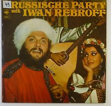 "12"" LP - Iwan Rebroff - Russische Party - k5803 - washed & cleaned"