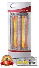 ZENITH Stufa elettrica al Carbonio Infrarossi Max 1200W Oscillante 2 X 600 W