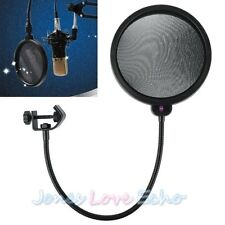 Neewer Studio Microphone Mic Wind Screen Pop Filter Mask Shied USA Black Music