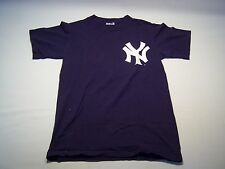 Majestic MLB New York Yankees #18 Damon T-shirt Men's Size S