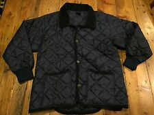 JOHN PARTRIDGE Youth Navy Quilted Riding Jacket- Size Large 14/16- Retails $70