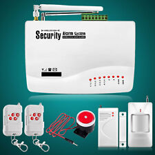 Home Alarm Systems Haus Wireless SMS GSM Funk Alarmanlage-Systems Funkalarm Neu