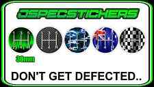 GEAR KNOB SHIFTER STICKER 5 SPEED MANUAL DEFECT H PATTERN DECAL JDM LOWLUX MULTI
